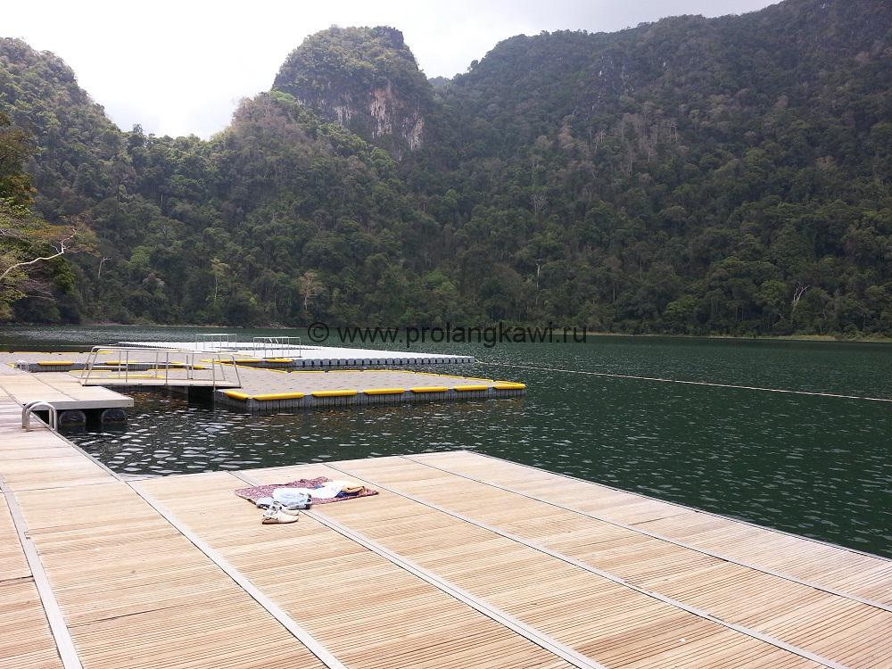 озеро беременной девы на Лангкави